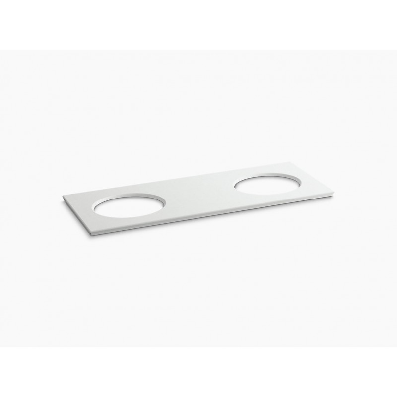 Kohler Solid-Expressions 61-in x 22-in 5433-S33