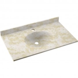 Swan Ellipse Solid Surface 37-in x 22-in VT1B2237-125