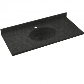 Swan Chesapeake Solid Surface 25-in x 22-in CH1B2225BD-071