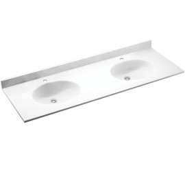 Swan Chesapeake Solid Surface 73-in x 22-in CH2B2273-M