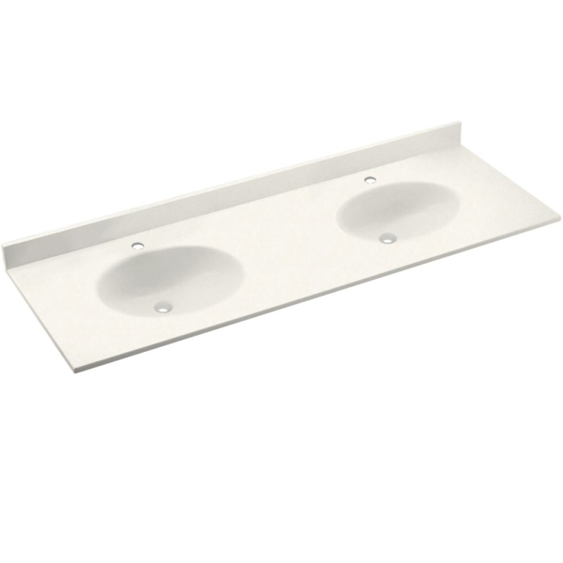 Swan Chesapeake Solid Surface 73-in x 22-in CH2B2273-059
