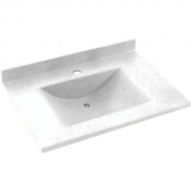 Swan Contour Solid Surface 31-in x 22-in CV-2231-M