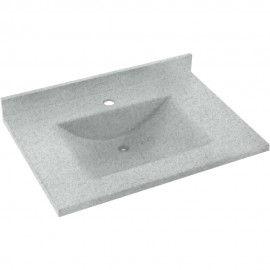Swan Contour Solid Surface 31-in x 22-in CV1B-2231RO-053