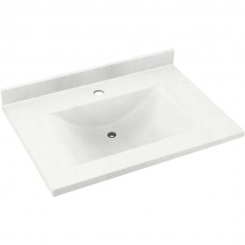 Swan Contour Solid Surface 37-in x 22-in CV-2237-M