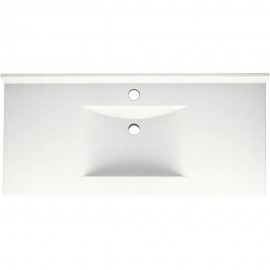 Swan Contour Solid Surface 43-in x 22-in CV-2243-M