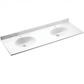 Swan Ellipse Solid Surface 61-in x 22-in VT2B2261-M