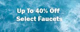 Up to 40% Off on Faucet
