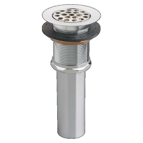 American Standard Commercial Grid Drain With 1-1/4-In Tailpiece
