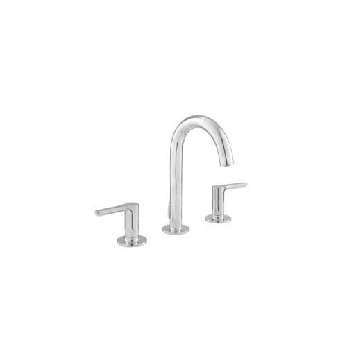 American Standard Studio S Widespread Faucet With SC Drain And Lever Handles