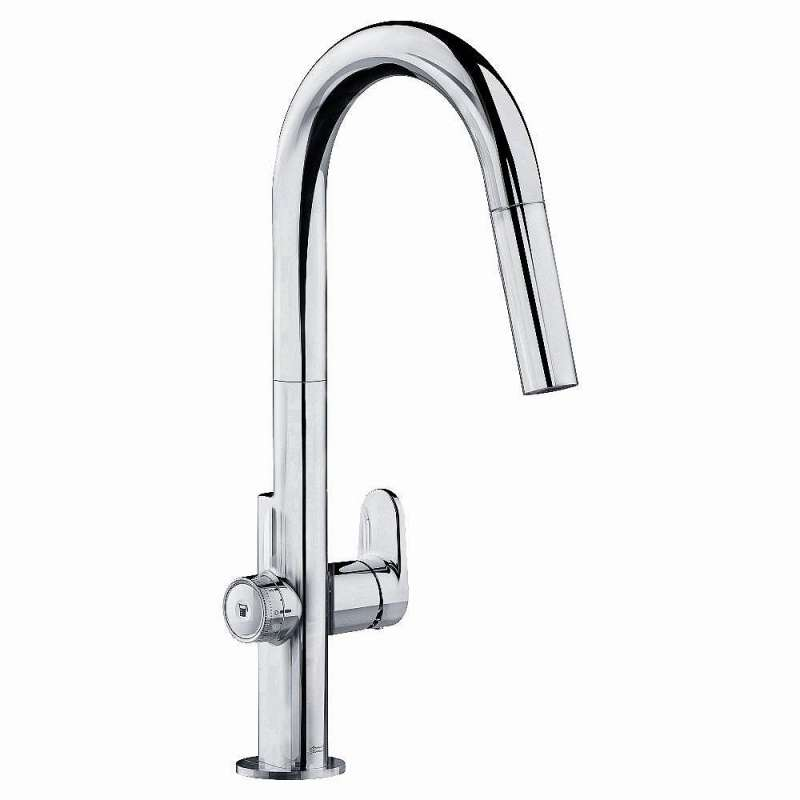 Sale American Standard Beale Single Handle Kitchen Faucet With Pull Down  Sprayer