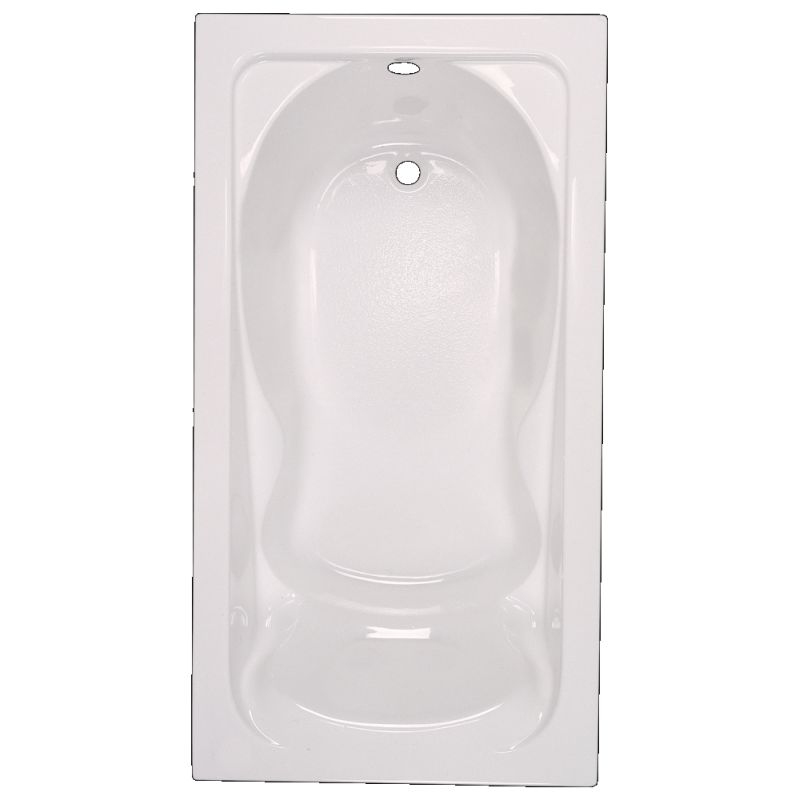 American Standard Cadet Acrylic 60-In X 32-In Drop-In Deep Soak Bathing Pool