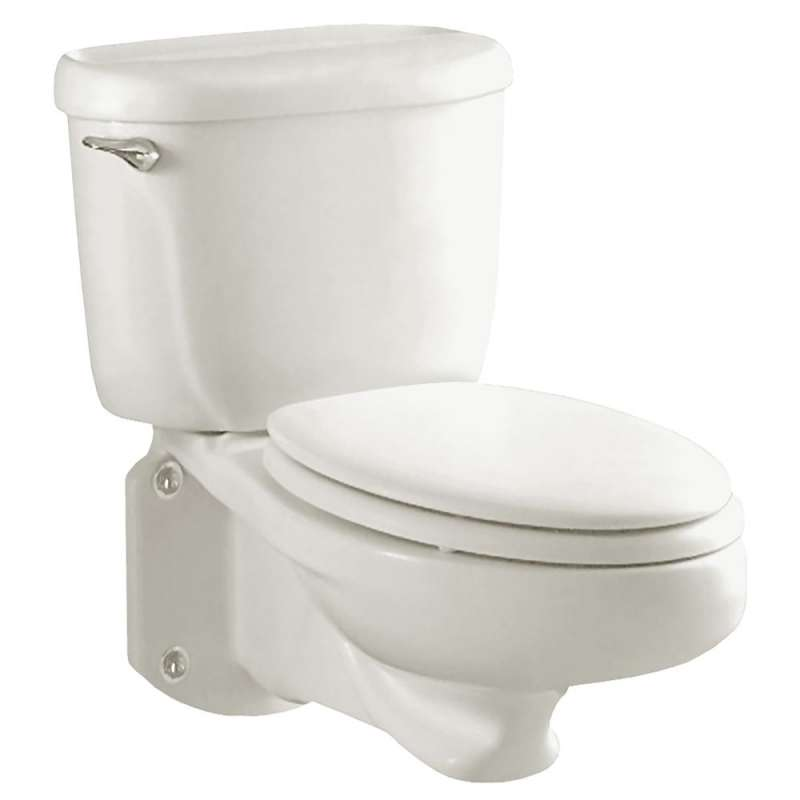 American Standard Glenwall 1.6 GPF 2-Piece Wall-Mounted Pressure Assisted Elongated Toilet