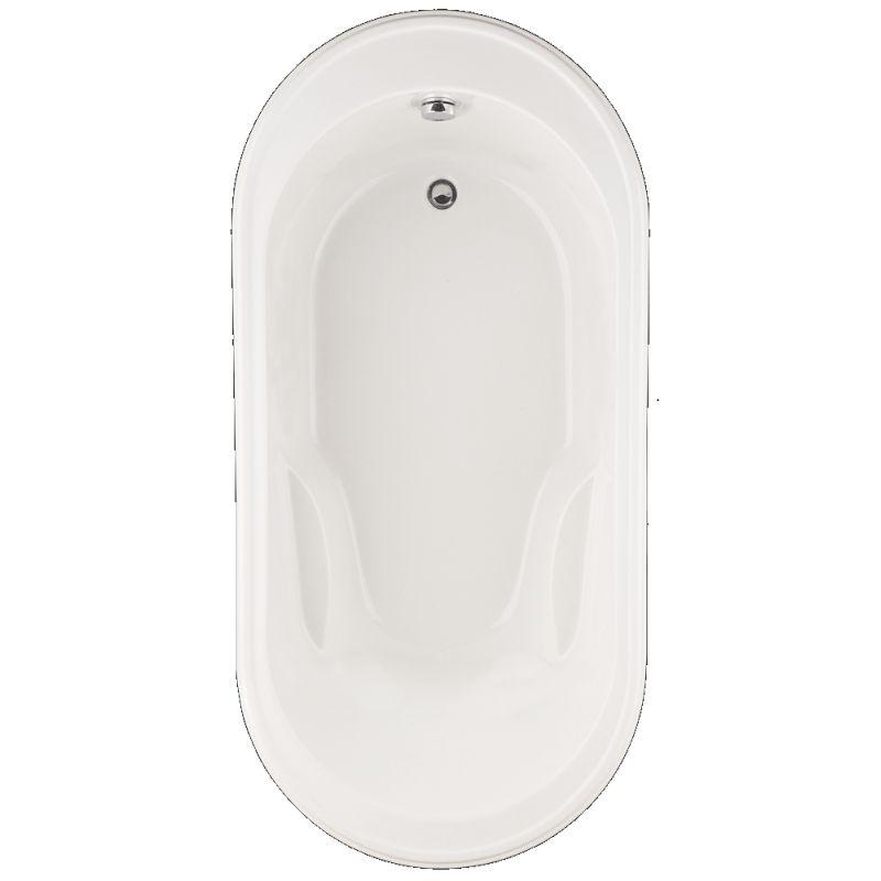 American Standard Heritage Acrylic 72-In X 35.75-In Drop-In Oval Acrylic Bathing Pool