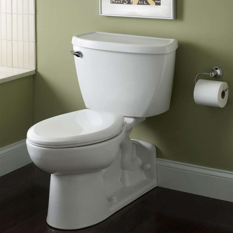 American Standard Yorkville 1.6 GPF 2-Piece Pressure Assisted Elongated Toilet