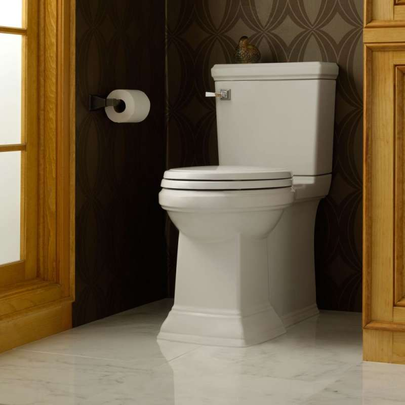 American Standard Town Square 1.28 GPF 2-Piece Elongated Toilet