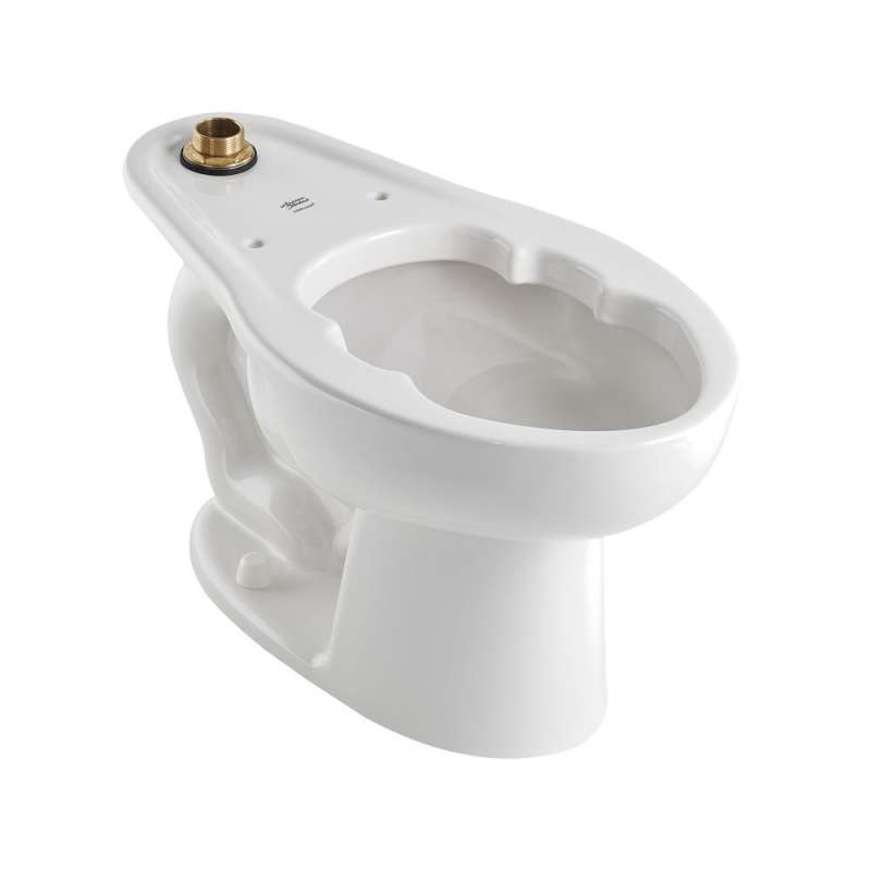 American Standard Madera 1.6 GPF Elongated Toilet Bowl And Top Spud With Slotted Rin