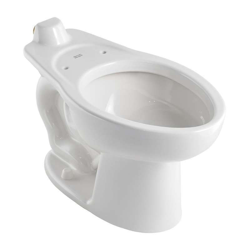 American Standard Madera Elongated Toilet Bowl With Back Spud