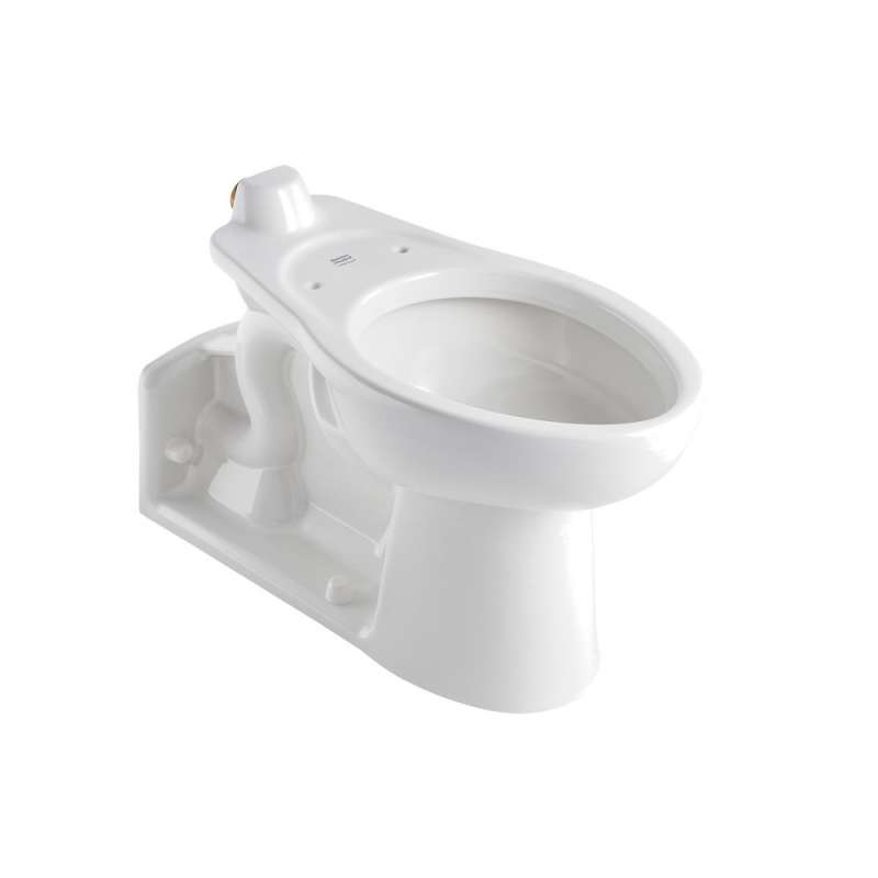American Standard Priolo Elongated Toilet Bowl With Back Spud
