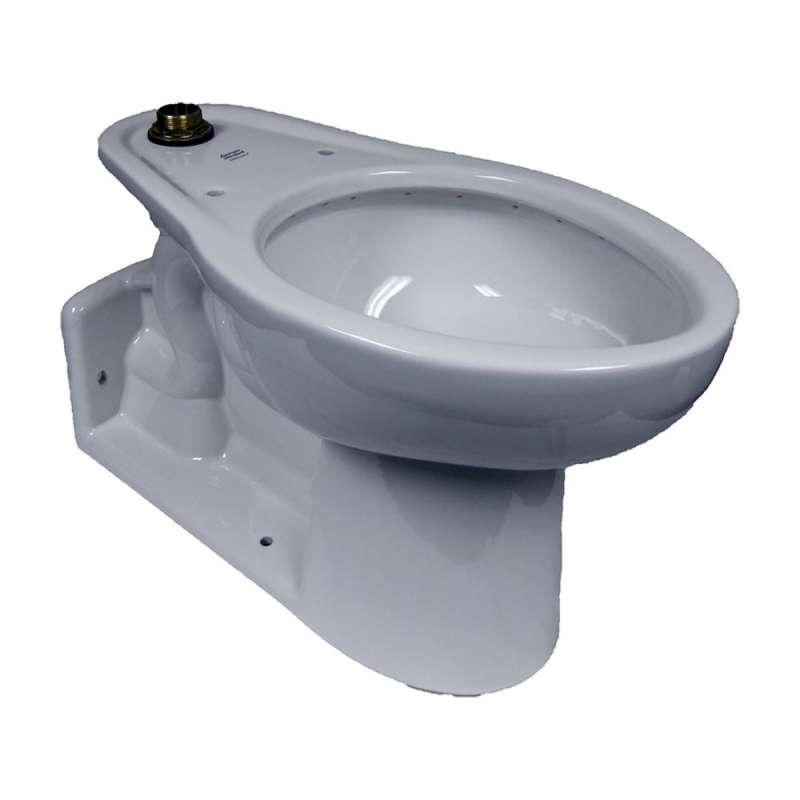American Standard Yorkville Elongated Toilet Bowl With 4 Bolt Caps