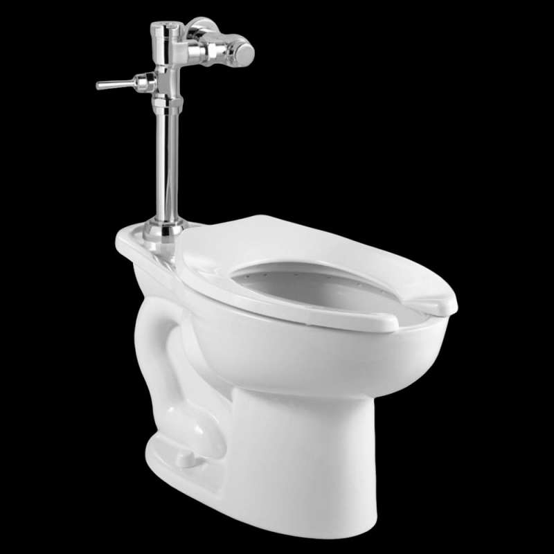 American Standard Madera 1.28 GPF Toilet With Exposed Manual Flush Valve System