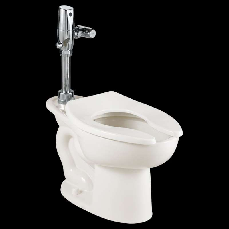 American Standard Madera 1.6 GPF Everclean Toilet With Selectronic Exposed Battery Flush Valve System