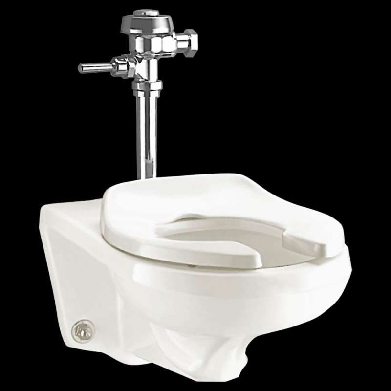 American Standard Afwall Elongated Toilet Bowl