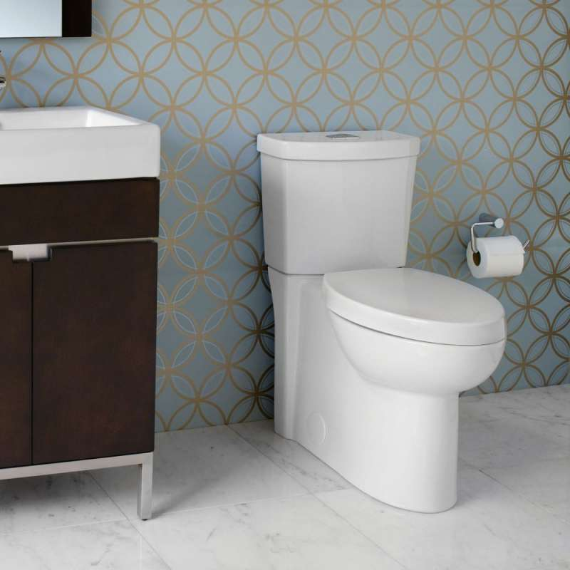 American Standard Studio 1.1/1.6 GPF 2-Piece Elongated Dual-Flush Toilet