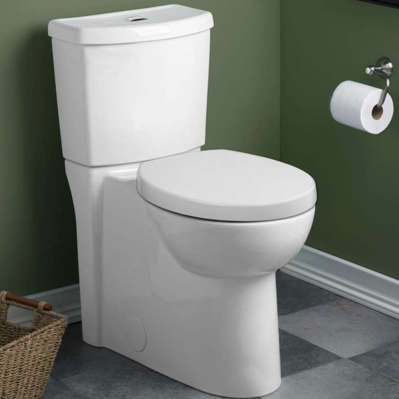 American Standard Studio 1.1/1.6 GPF 2-Piece Round Front Dual-Flush Toilet