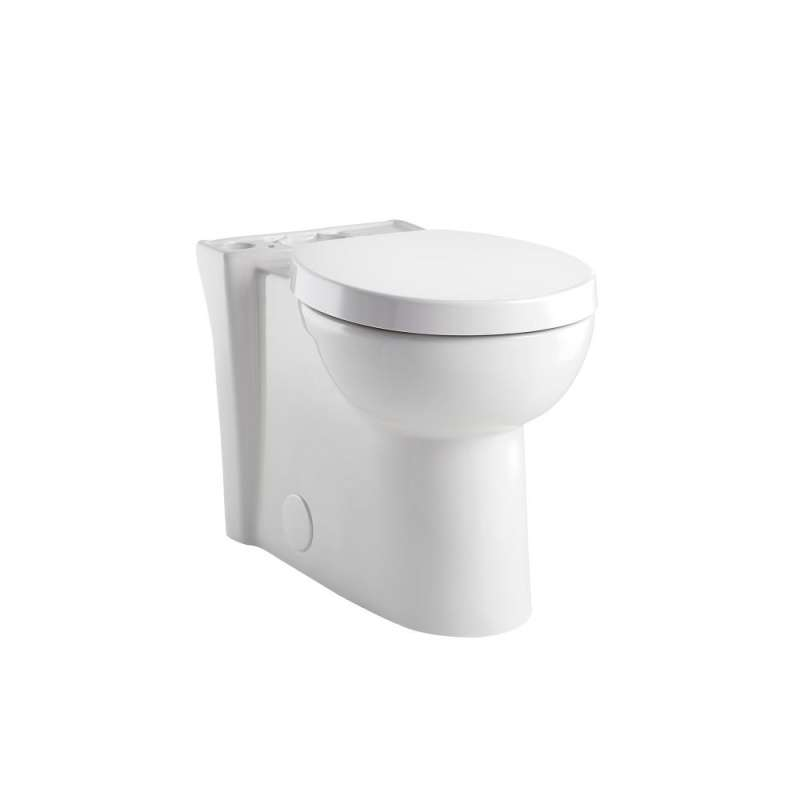 American Standard Studio Right-Height Round Front Toilet Bowl