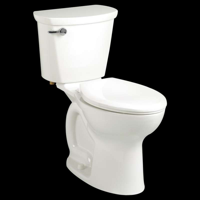 American Standard Cadet 1.6 GPF 2-Piece Round Front Toilet With 10-In Rough-In