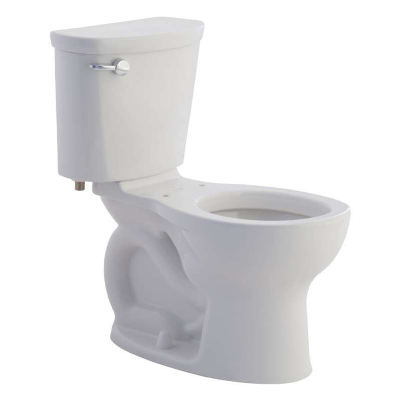 American Standard Cadet 1.28 GPF 2-Piece Round Front Toilet With 10-In Rough-In