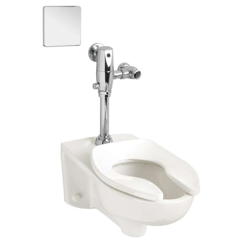 American Standard Afwall Elongated Toilet Bowl And Top Spud