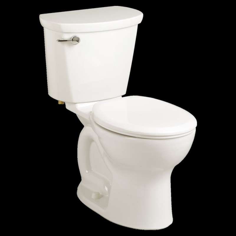 American Standard Cadet 1.6 GPF 2-Piece Round Front Toilet With 12-In Rough-In