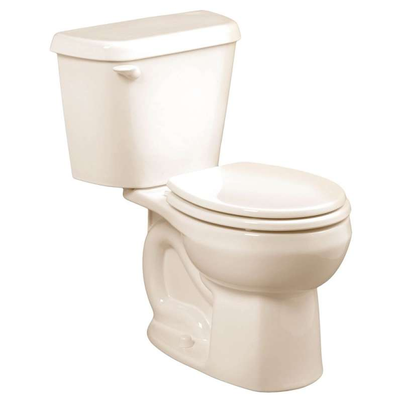 American Standard Colony 1.28 GPF 2-Piece Round Front Toilet With 10-In Rough-In