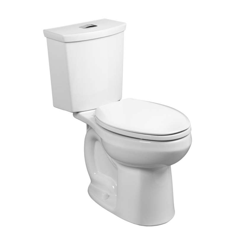 American Standard H2Option 0.92/1.28 GPF 2-Piece Dual-Flush Elongated Toilet With 12-In Rough-In