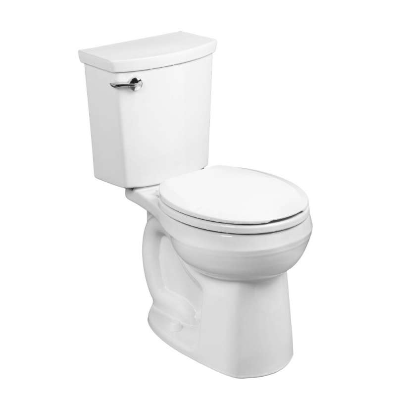 American Standard H2OPtion 1.1 GPF 2-Piece Round Front Toilet