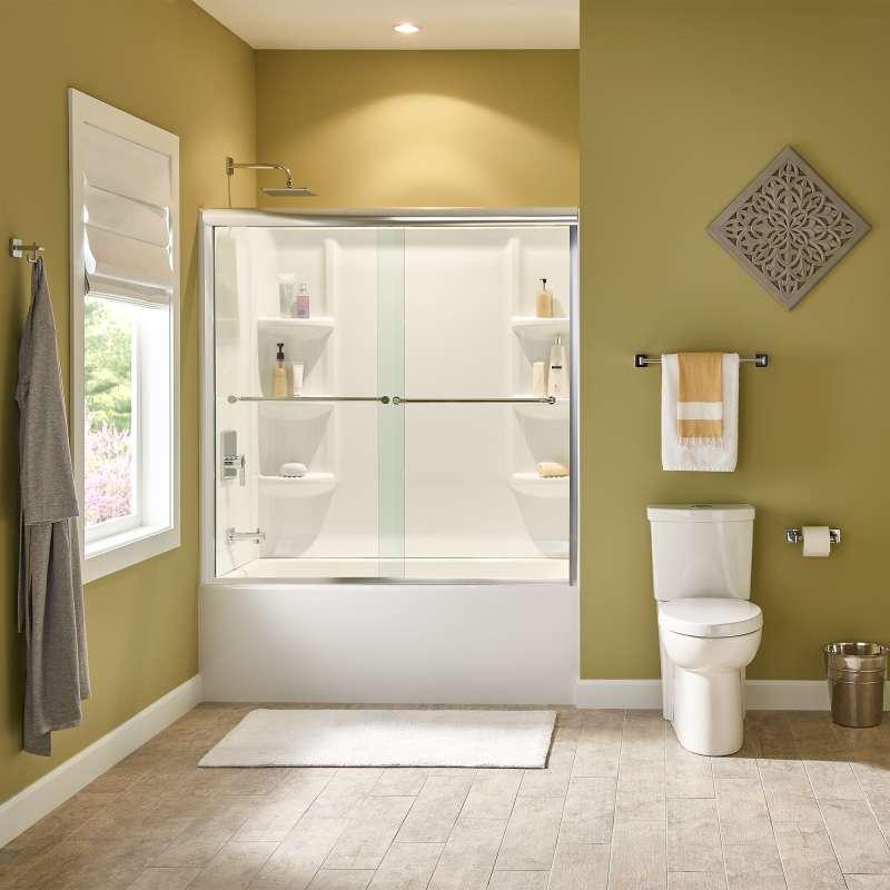 Buy American Standard Studio Acrylic 60-in. X 32-in. Alcove Shower ...