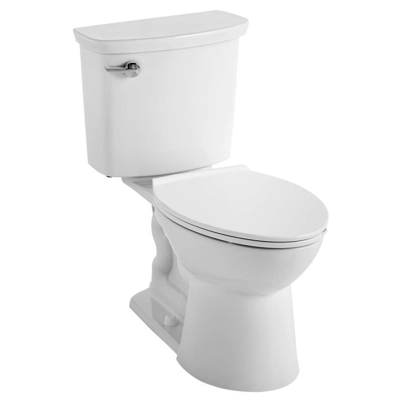 American Standard VorMax Elongated 1.28 GPF Toilet Less Seat