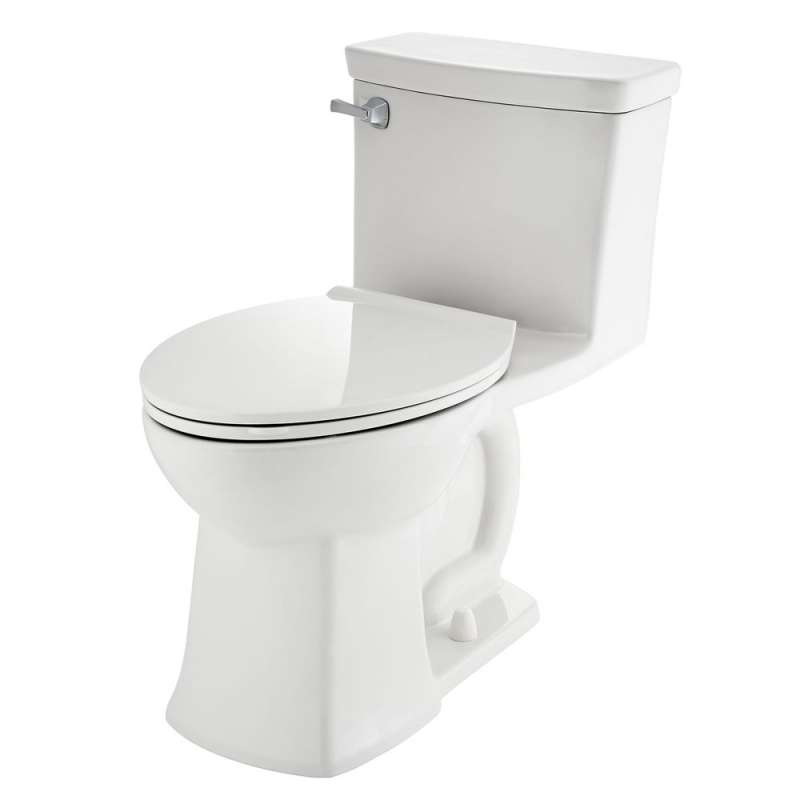 American Standard Townsend Vormax Elongated One-Piece Toilet With Toilet Seat