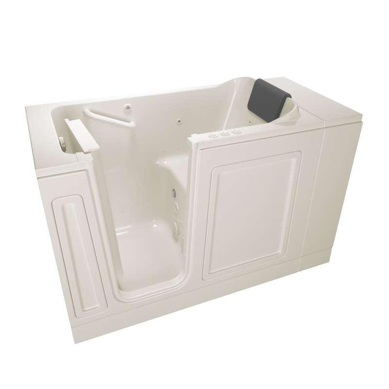 Buy American Standard Acrylic Wit 48-in. Left Hand Drain Walk-In Tub ...