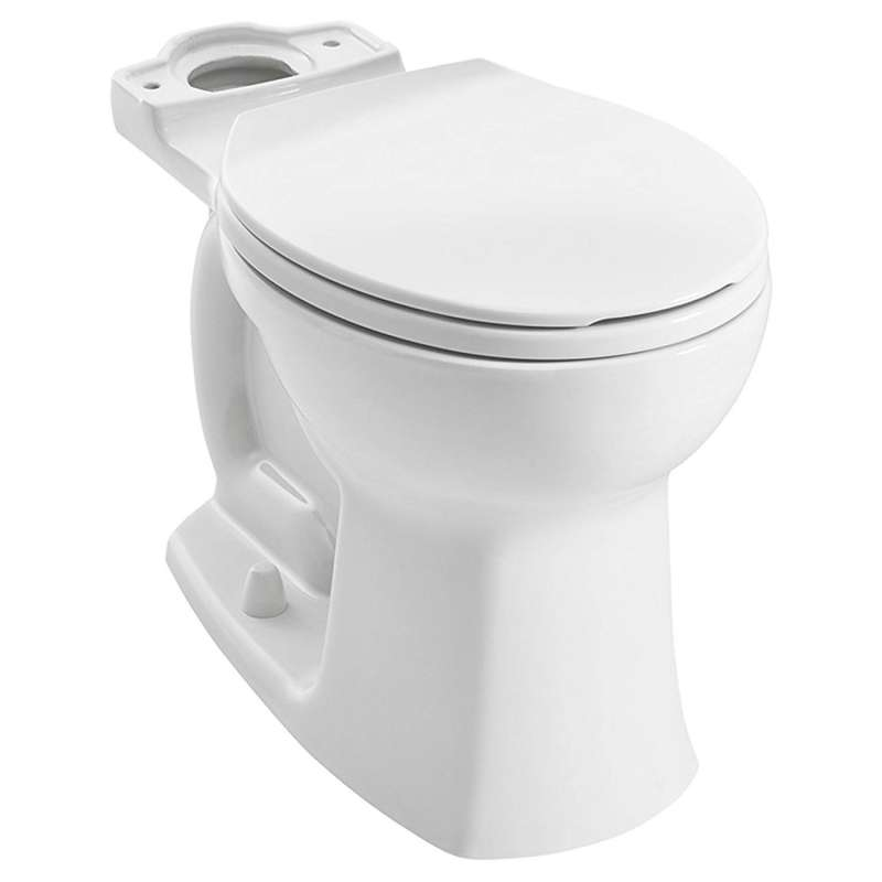 American Standard Edgemere Round Vitreous China Toilet Bowl