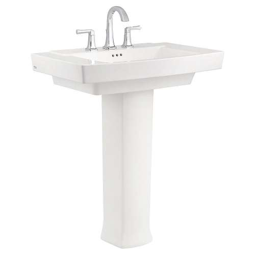 American Standard Townsend Pedestal Bathroom Sink With 8-In Centers