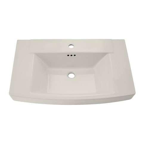 American Standard Townsend Pedestal Bathroom Sink With Top Center Hole