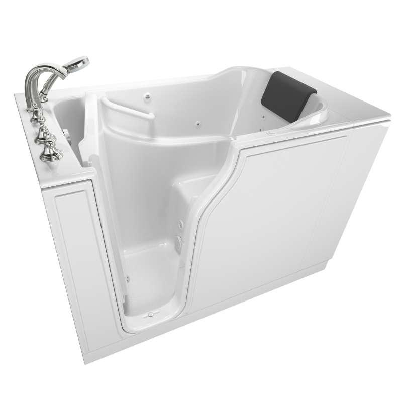 Buy American Standard Gelcoat Wit 30-In X 52-In Walk-In Whirlpool ...