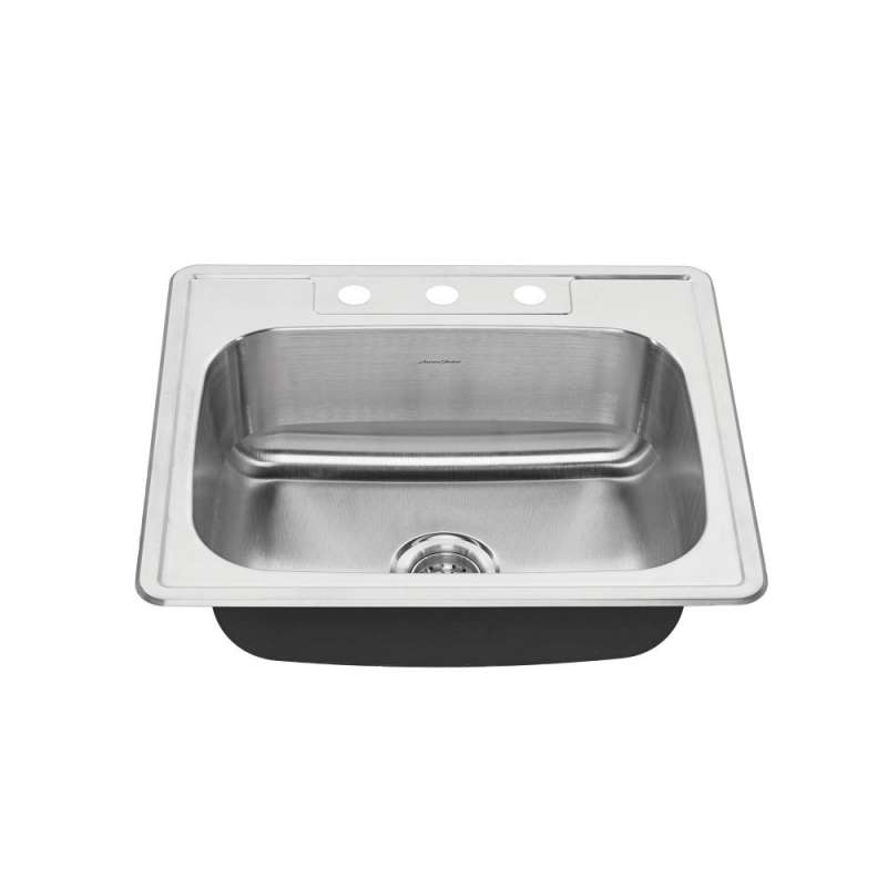 Buy American Standard Colony 25-In Single Basin 3 Faucet Hole ...
