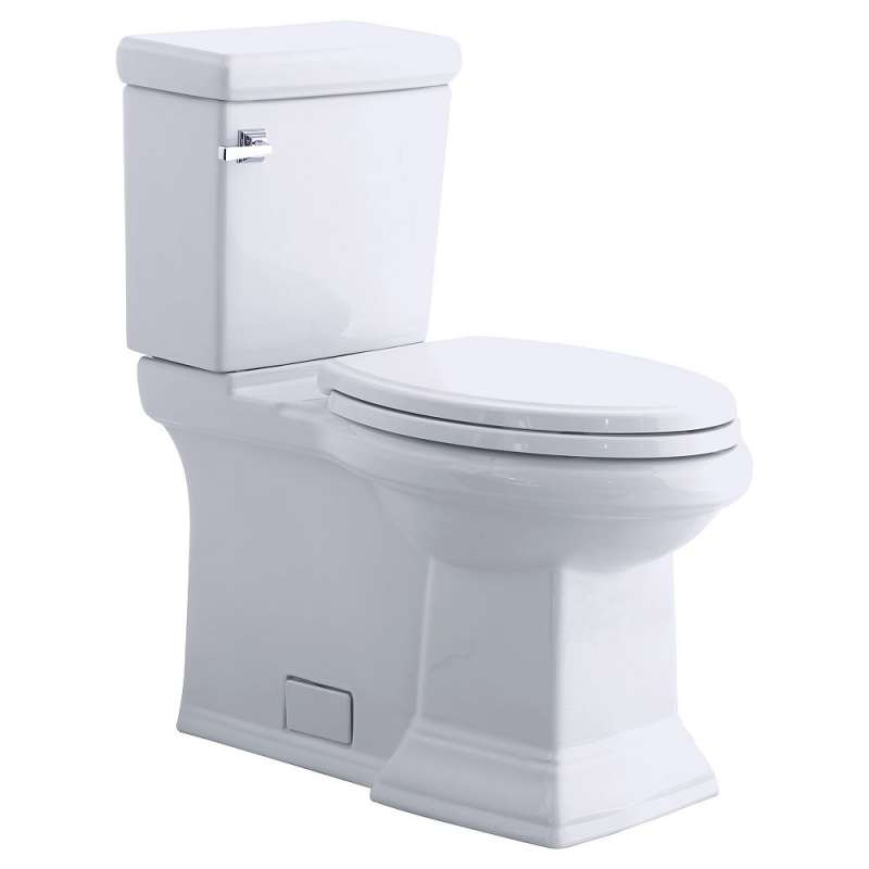 American Standard Town Square 2-Piece Elongated Toilet Combo With Right-Hand Trip Lever