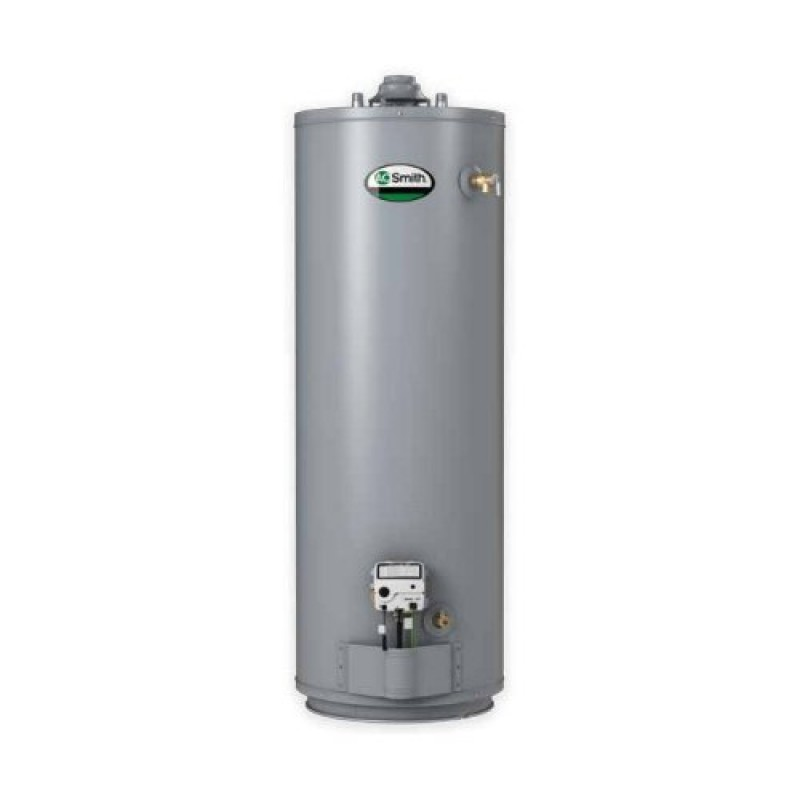 A.O. Smith ProMax Plus High Efficiency Gas Water Heater, 50 gal