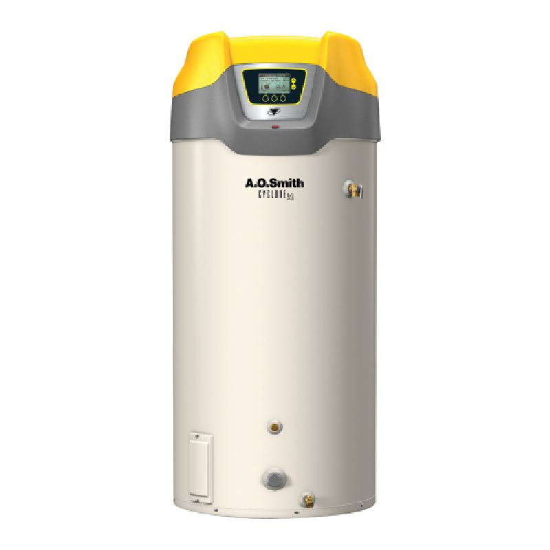 A.O. Smith Cyclone Xi 150,000 BTU 100 Gal Natural Gas Tank Type Commercial Water Heater