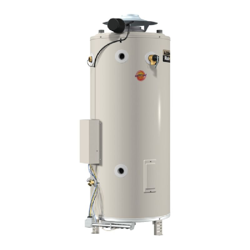 A.O. Smith Master-Fit 199,000 BTU 81 Gal Natural Gas Tank Type Commercial Water Heater