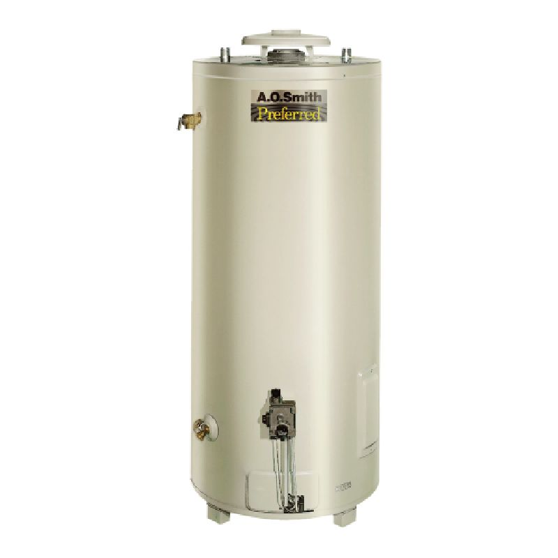 A.O. Smith Conservationist BT 75,100 BTU 74 Gal Natural Gas Tank Type Commercial Water Heater